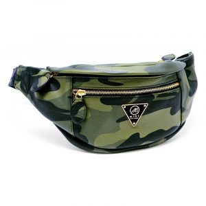 Mint Olive Camo Fanny Pack