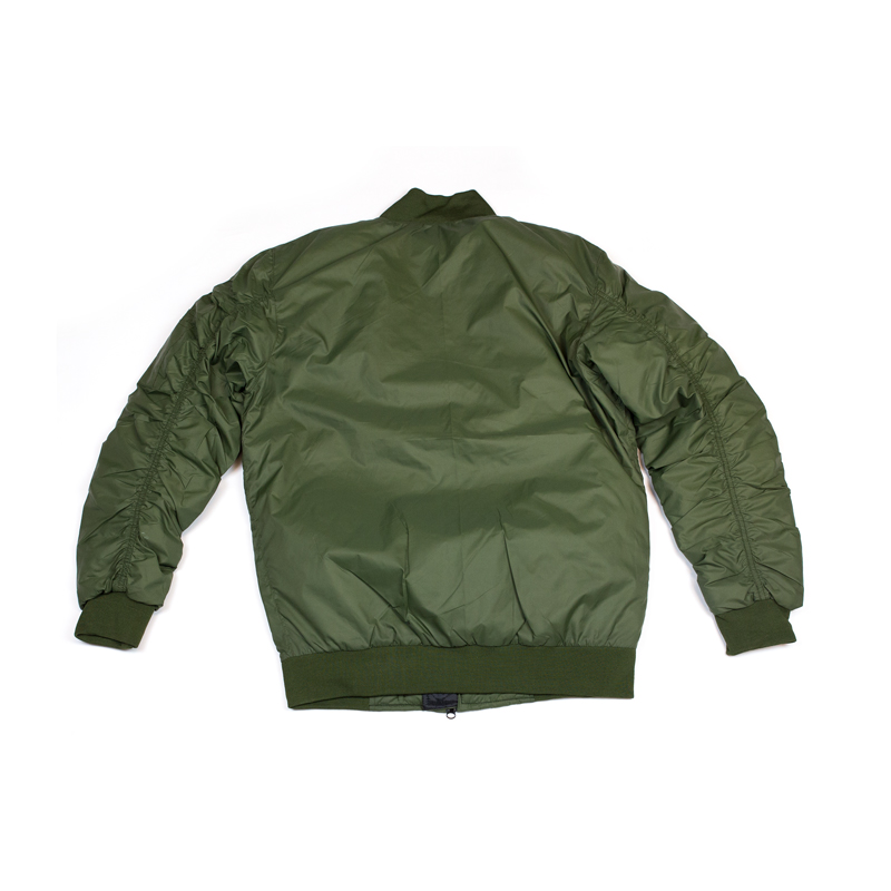 olive bomber jacket hidden hype