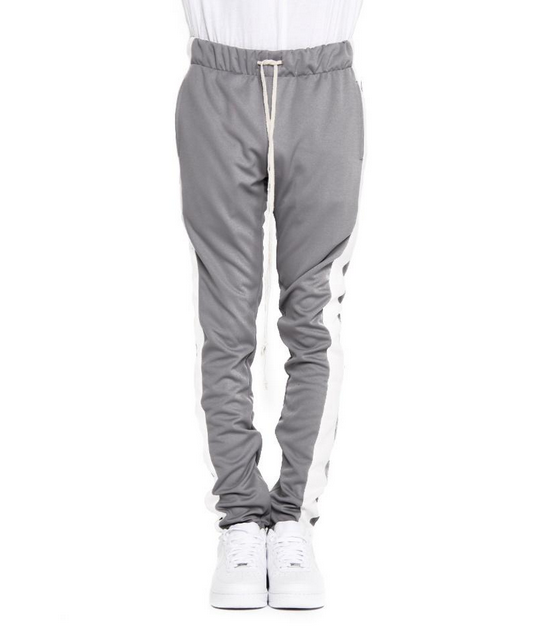 EPTM. grey track pants front