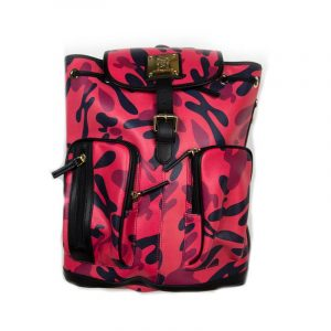 H Camo Leather Bag
