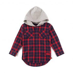 George Hooded Flannel