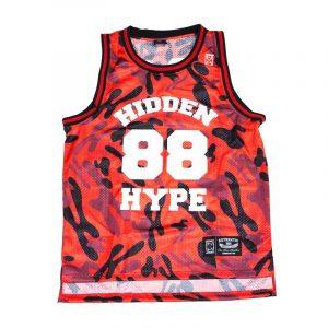 H Camo Basketball Jersey