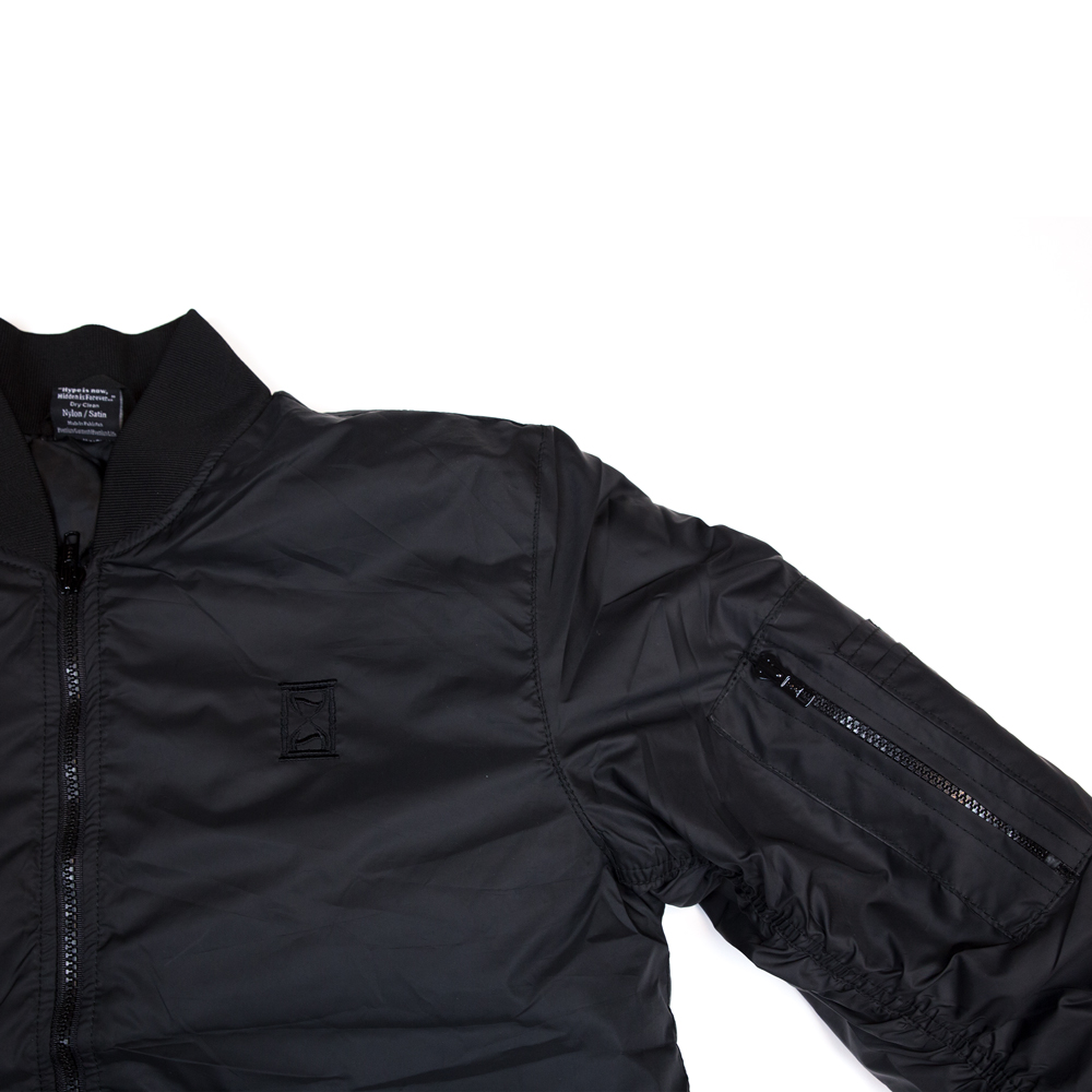 hidden hype bomber jacket