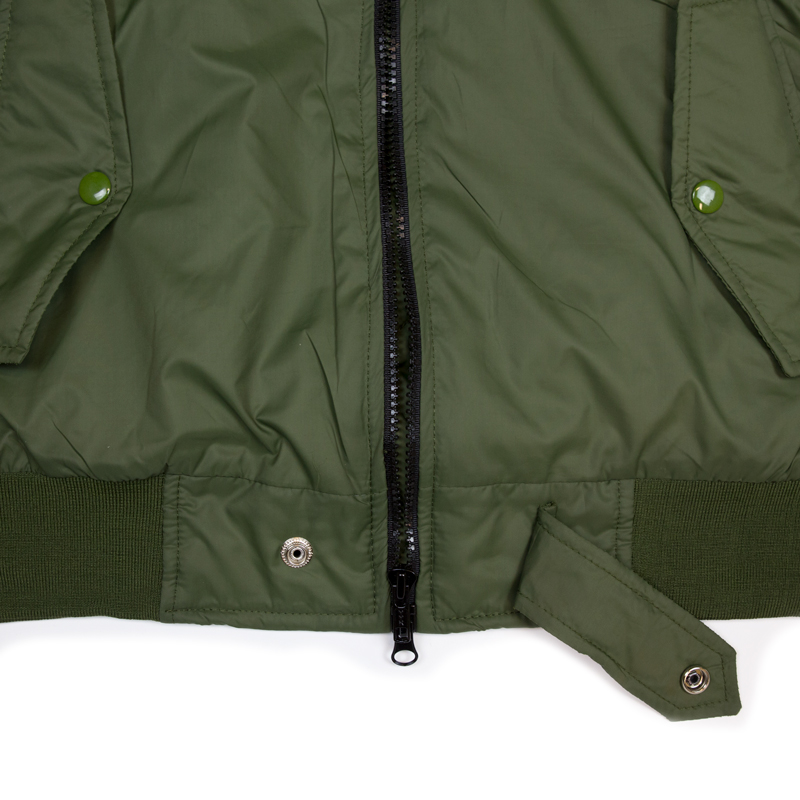 hidden hype olive bomber jacket