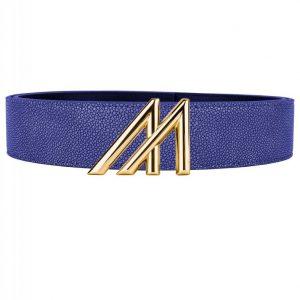 Mint Stingray Belt Blue