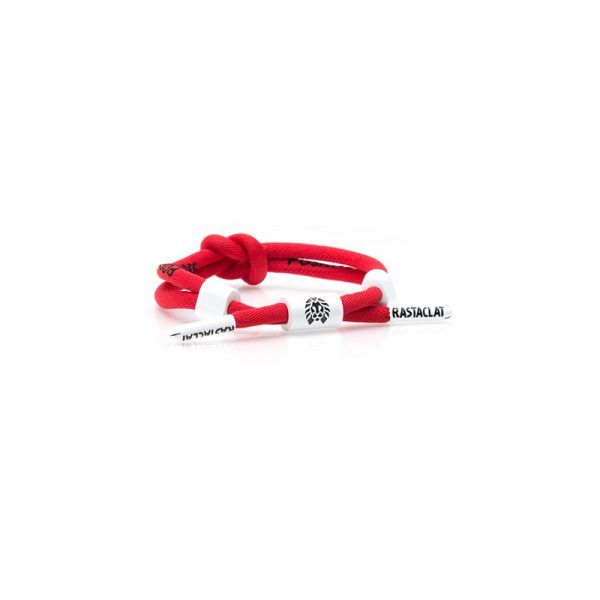 """Rastaclat Knotaclat Positive Vibes """"Red/White"""""""