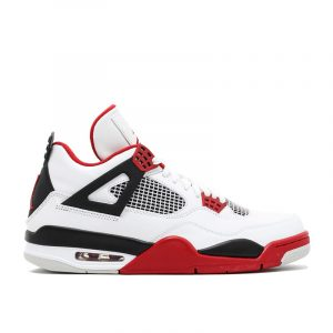 "Jordan 4 Retro ""Fire Red"""