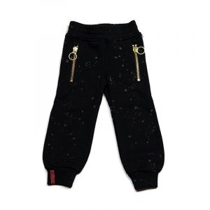 Haus Of Jr Gold Zip Sweat Pants