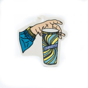 Stickie Bandits Double Cup Air Freshener