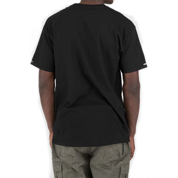 crooks and castles panther t shirt black