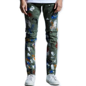 embellish beckham biker denim