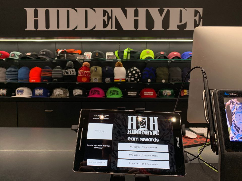 Hidden Hype loyalty rewards program