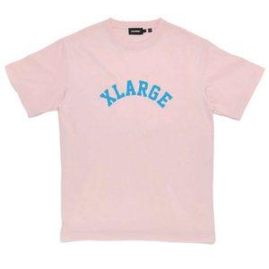 xlarge arch logo tee pink