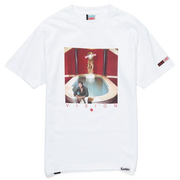 cookies scarface vision tee white