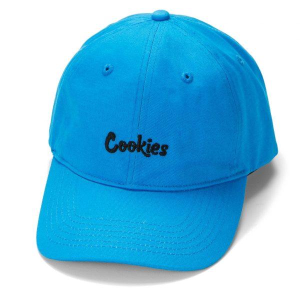 cookies thin mint logo dad hat blue