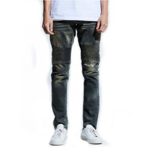 Embellish Hilton Biker Denim