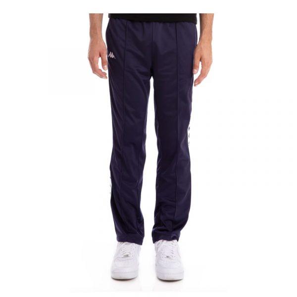 Kappa Banda Astoriazz Track Pants Blue Marine-White
