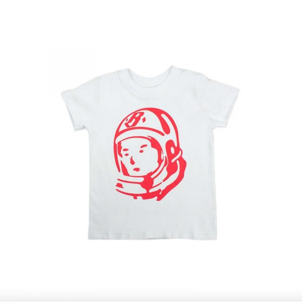 Kids Billionaire Boys Club Helmet SS Tee White