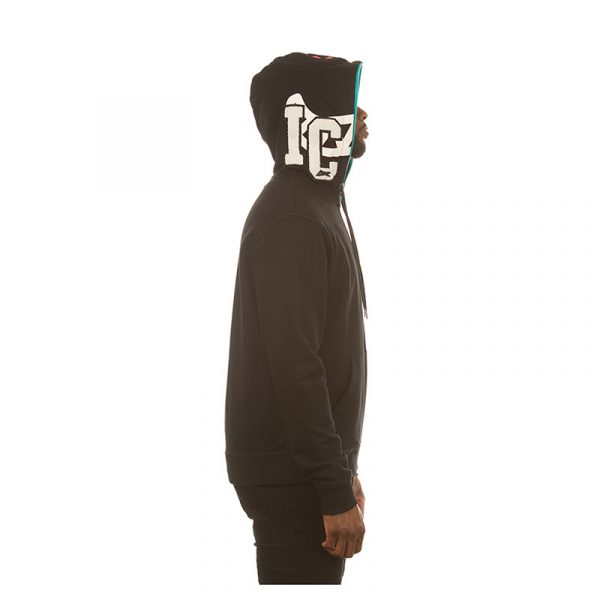 Ice Cream Block Head Hoodie Other Side