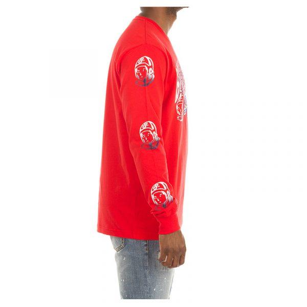Billionaire Boys Club Arch Script Long Sleeve Red Side