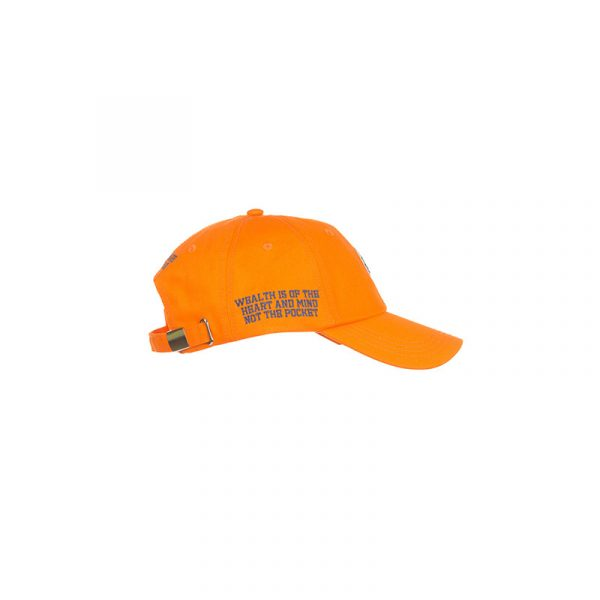 Billionaire Boys Club HM Dad Hat Orange Side