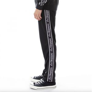 Kappa Banda Aplec Pants Black / White