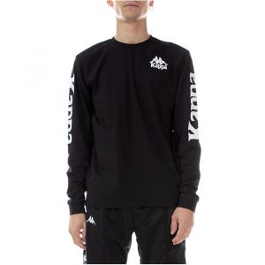Kappa Ruiz Long Sleeve Black