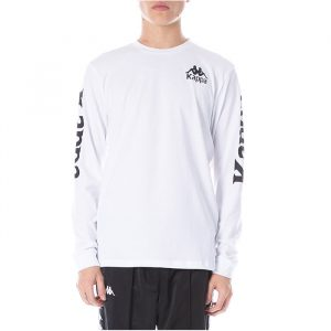 Kappa Ruiz Long Sleeve White