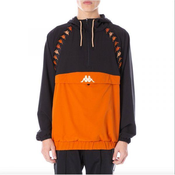 "Kappa ""Daxi"" Jacket Black/Orange"