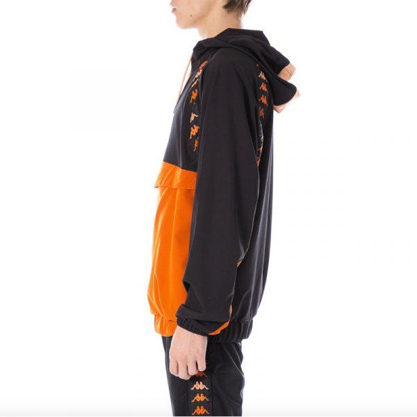 "Kappa ""Daxi"" Jacket Black/Orange Side"