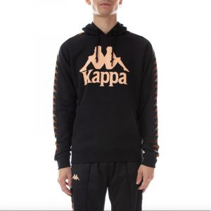 Kappa Dinto Hoodie Black/Apricot