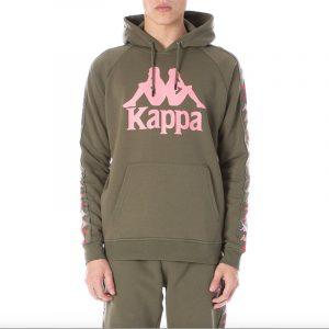 Kappa Dinto Hoodie Green/Pink