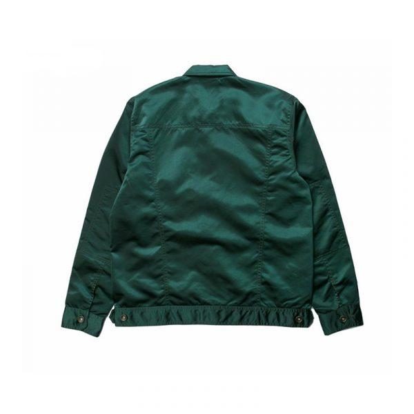 """Publish """"Glaze"""" Jacket Green Back"""