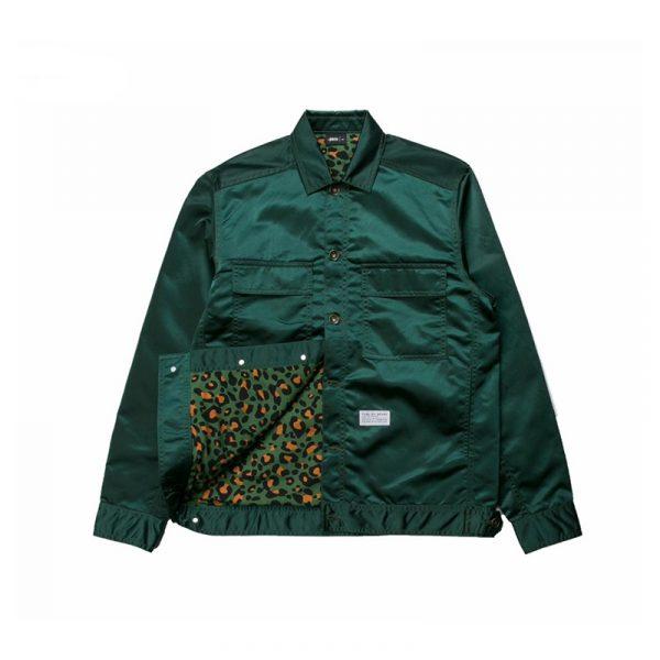 """Publish """"Glaze"""" Jacket Green Inside"""