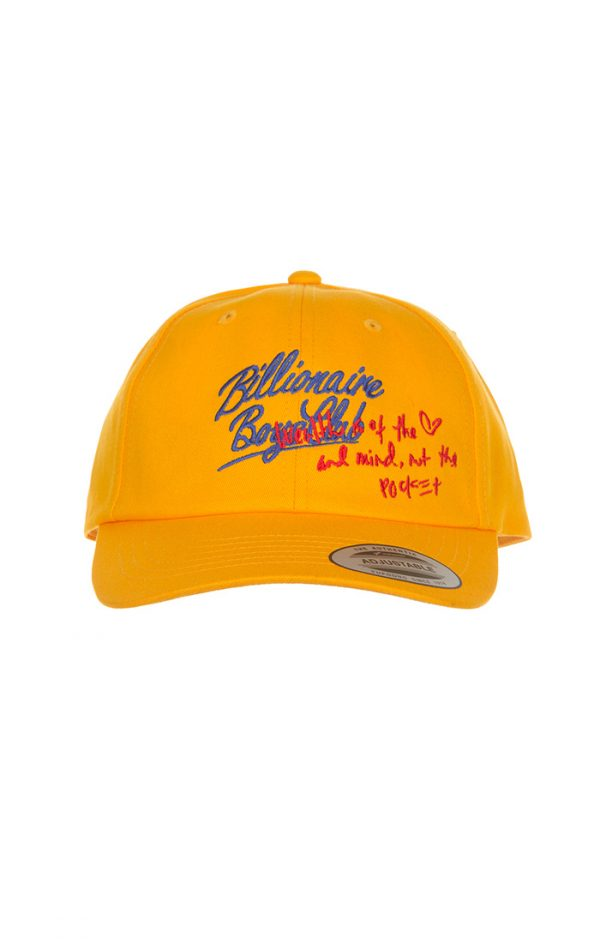 Billionaire Boys Club HM dad hat radiant yellow