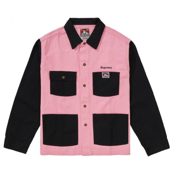 Supreme x Ben Davis Chore Coat Black