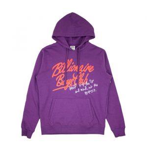 Billionaire Boys Club mind Hoodie Majesty Purple