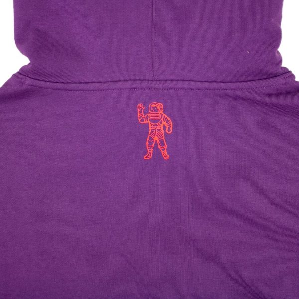 Billionaire Boys Club mind Hoodie Majesty Purple Back