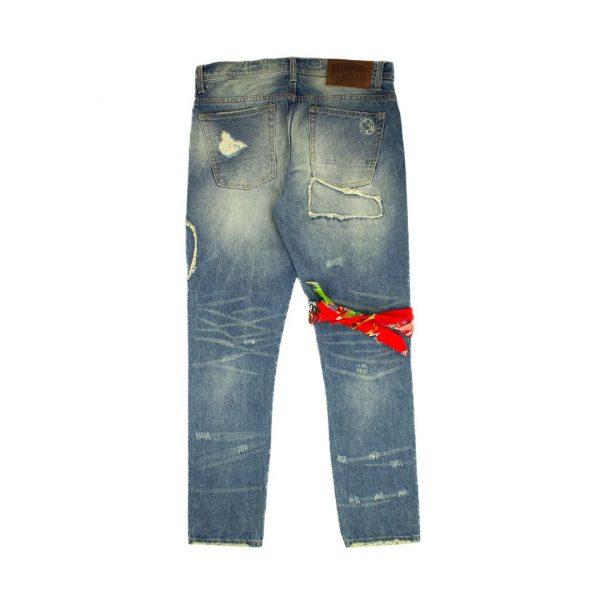 Billionaire Boys Club BB Rocket Jeans back
