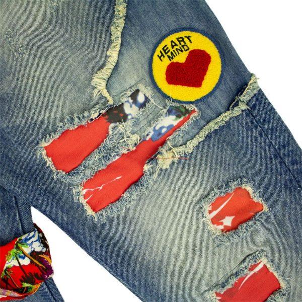 Billionaire Boys Club BB Rocket Jeans front thigh