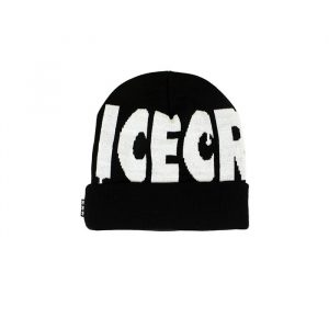 Ice Cream Wheelie Knit Beanie Black