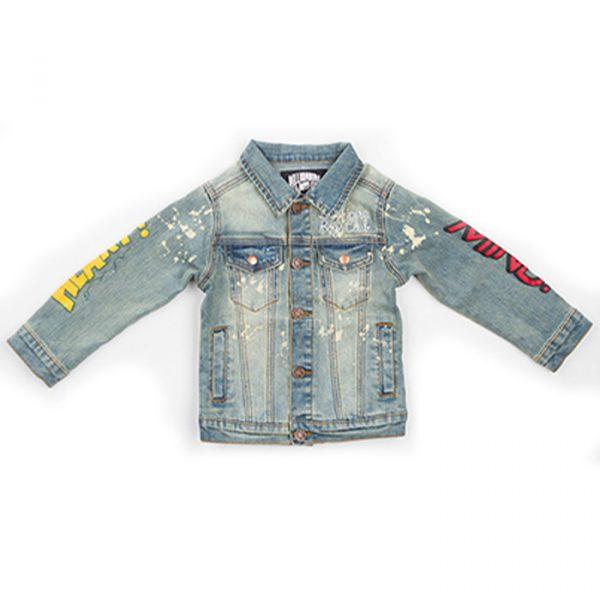 Kids Billionaire Boys Club HM Denim jacket Front