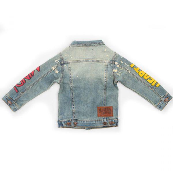 Kids Billionaire Boys Club HM Denim jacket back