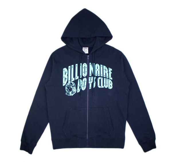 Billionaire Boys Club Warmth Zip Hoodie Navy