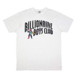Billionaire Boys Club Astro Arch SS Tee White