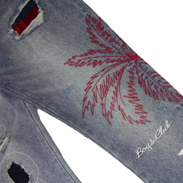 Billionaire Boys Club Star Palm Jeans Close Up