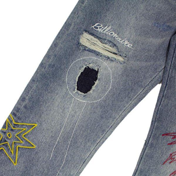 Billionaire Boys Club Star Palm Jeans Leg