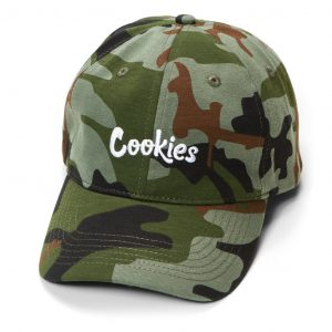 Cookies Battalion Multi Camo Dad Hat Green Camo