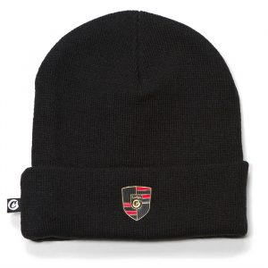 Cookies Daytona Knit Beanie Logo Patch Black