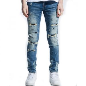 crysp denim pacific blue indigo distressed cryh19-130 2020 denim